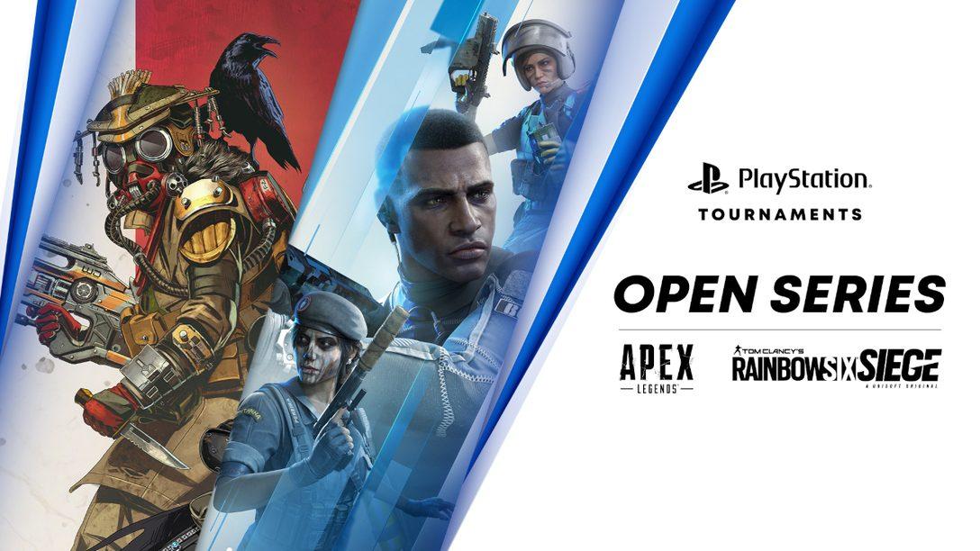 『エーペックスレジェンズ』と『レインボーシックス シージ』が「PlayStation® Tournaments: Open Series」に登場!