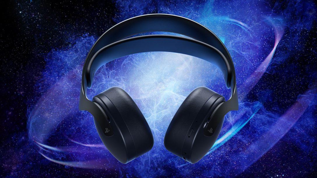 PS5™用PULSE 3D™ワイヤレスヘッドセットの新色「ミッドナイト ブラック」を10月28日より発売!