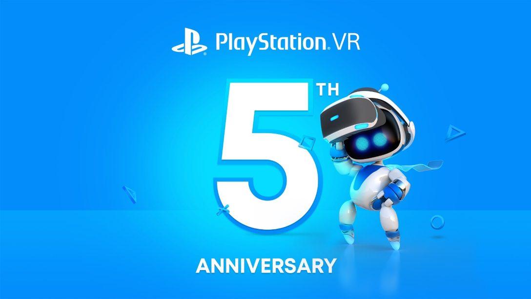 PlayStation®VR発売5周年! 世界中の開発者へのインタビューと共に、PS Plus加入者限定の特典情報をお届けします!